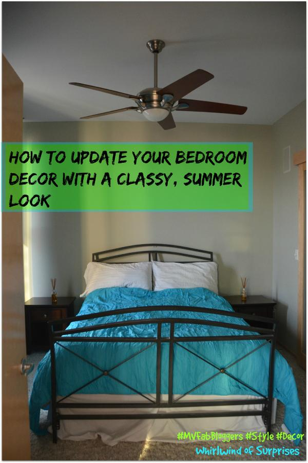 5 easy tips to updating your bedroom decor