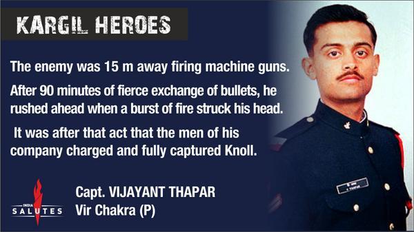 10 Kargil War Heroes and stories of their extraordinary