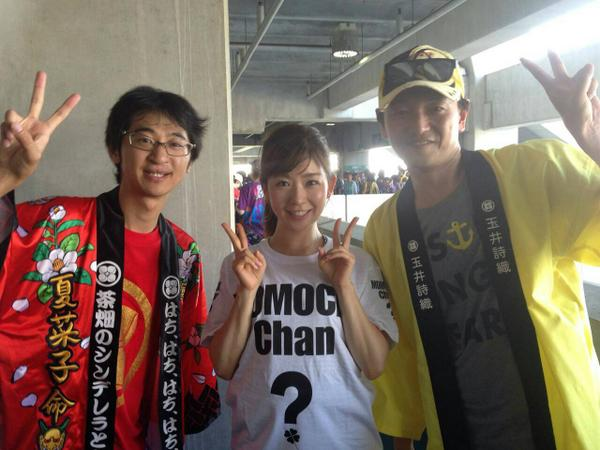 ももクロのライブに参戦した松尾由美子