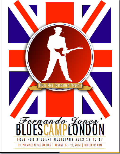 Chicago Blues Camp comes to London! Any #londonblues #londonbluesyouth interested?FREE! Info-@PremisesStudios or me! http://t.co/9uvVDQGPPg