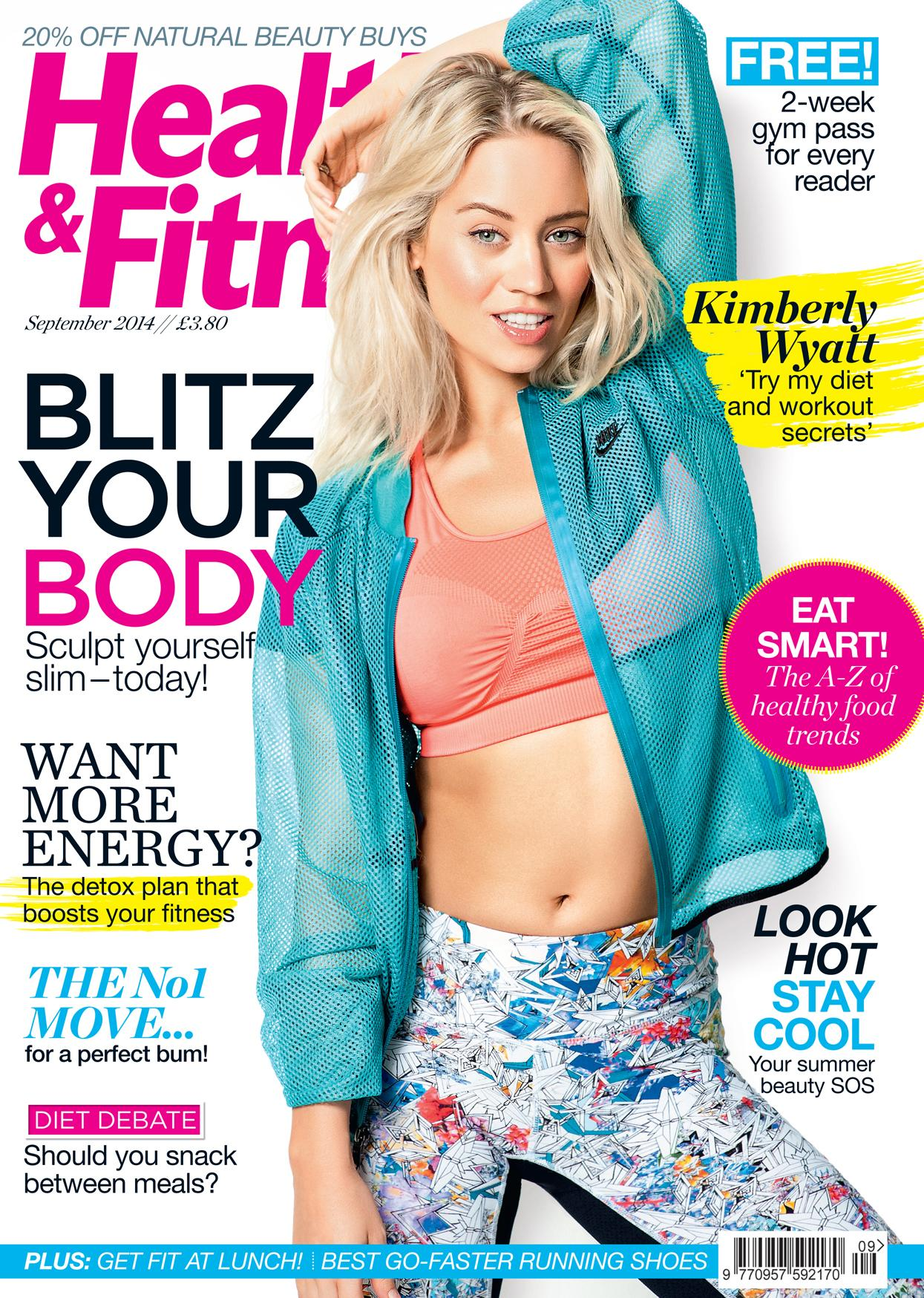 RT @HandFmagazine: Excited to announce that the gorgeous @KimberlyKWyatt is on the cover of our September issue. Out TODAY! Enjoy! http://t…