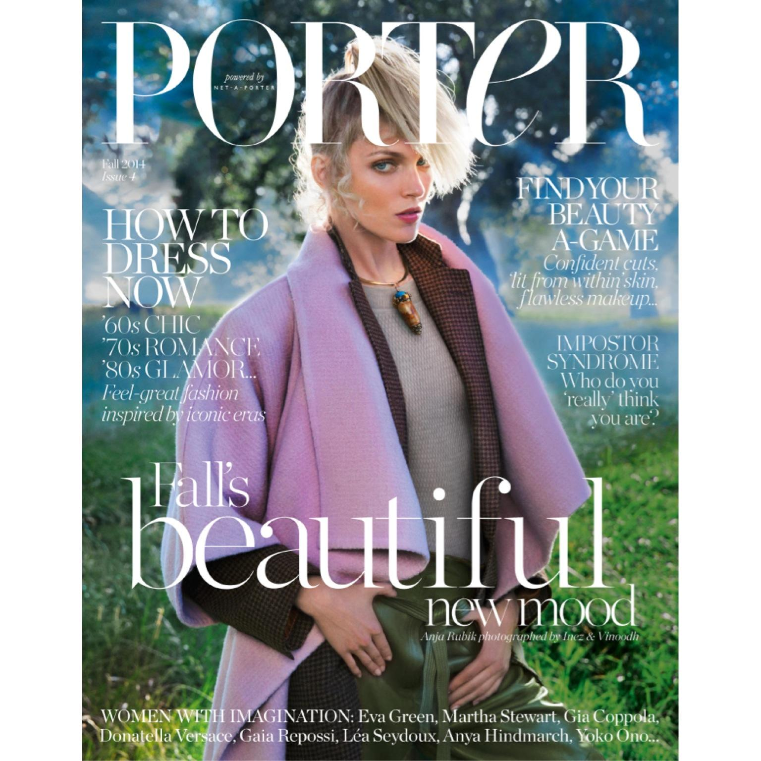 RT @NETAPORTER: See supermodel @anjarubikblog on the cover of @PORTERmagazine issue 4. Out Friday, August 1. http://t.co/SeNPyYU7sT http://…