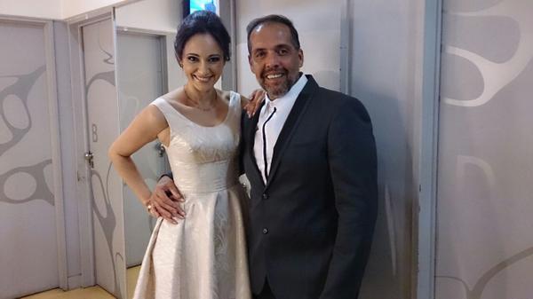@GabrielaSobrado @sercompany con la diosa de Gaby listos para l@lajauladelamoda http://t.co/dnDdNwAYA4