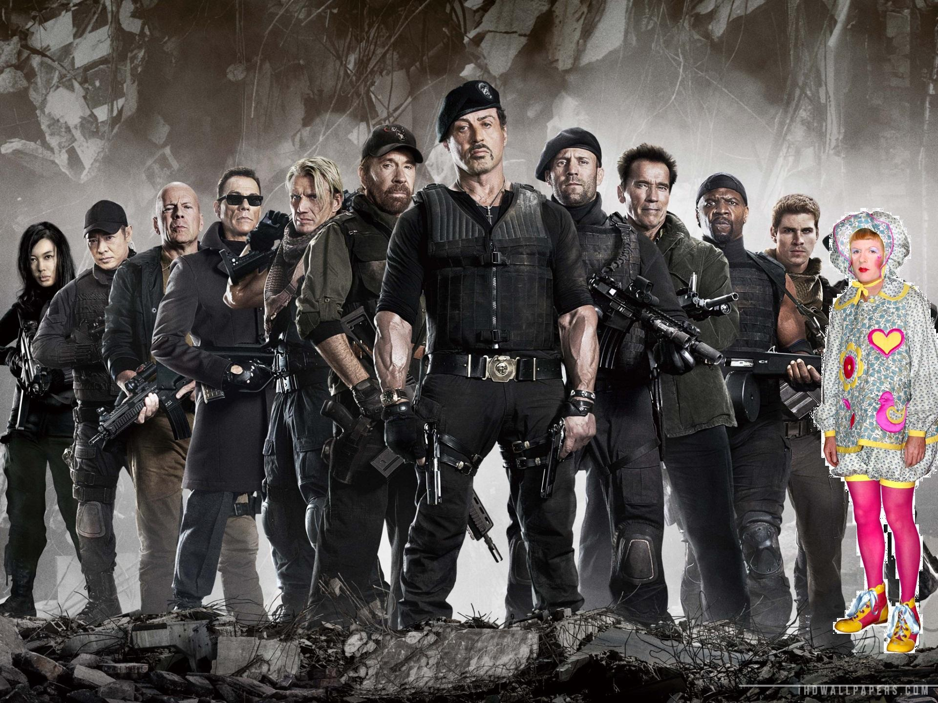 RT @linopolis: @Glinner I did it! LOVE ME!!!! #Expendables3 http://t.co/VT4GyqJLMq