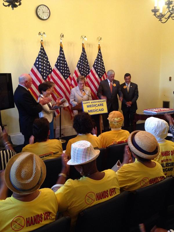 "MT: ""Those 65 and older now live longer because of #Medicare."" @RepMarcyKaptur #p2 http://t.co/ODV2F0JRbO"
