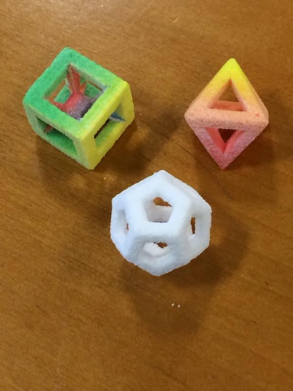 Thanks @3dsystemscorp for the fabulous 3D-printed candies for our taste test. They're gorgeous! @PopSci http://t.co/cW8BtPIxYw