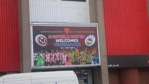 Sheffield United v Fenerbahce: Watch a Live Stream of the pre season friendly