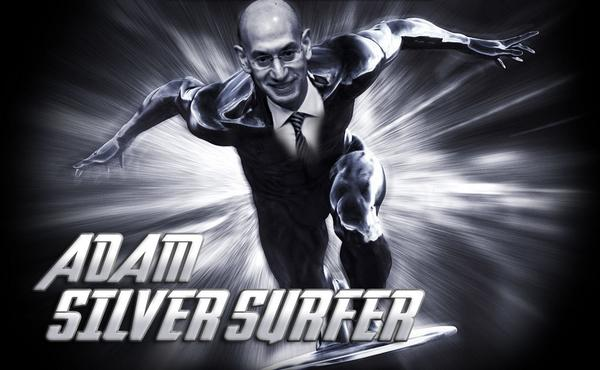 Adam Silver Surfer #NBASuperHeroes http://t.co/RE9NWPFgGx
