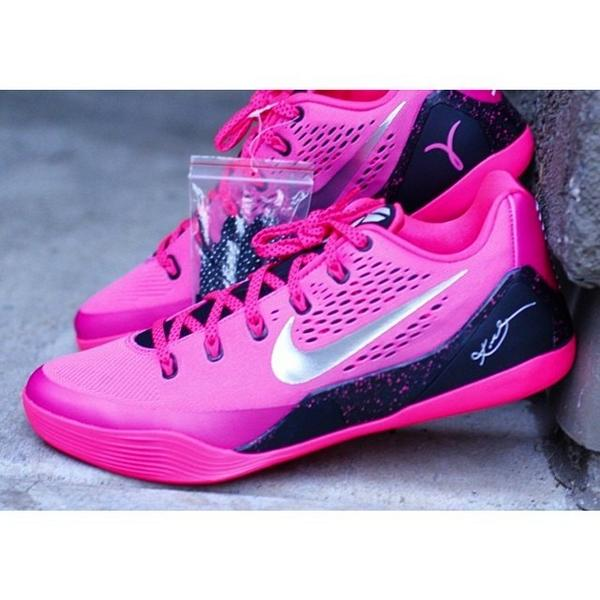 low priced 8077c 70d6d KicksOnFire.com on Twitter: \u0026quot;Nike Kobe 9 EM \u201cThink Pink