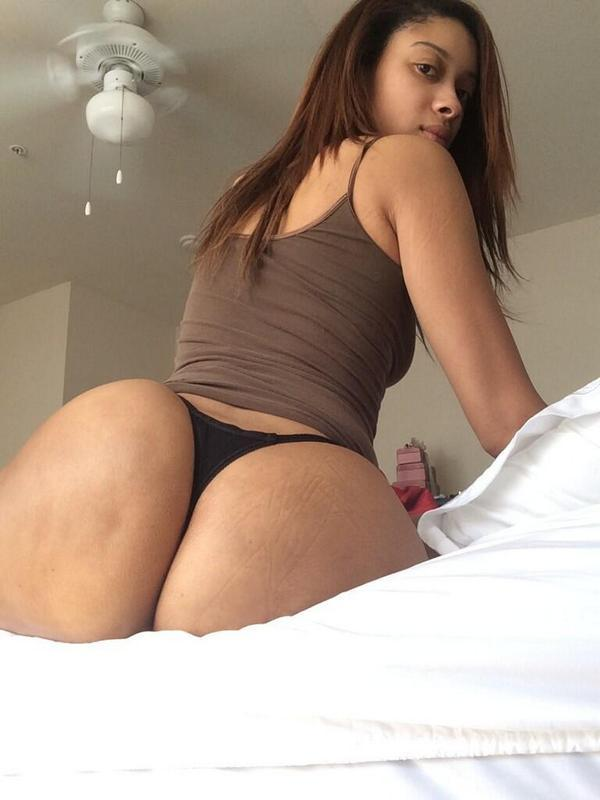 Bubble booty on bed gif