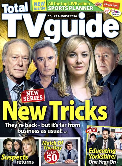 RT @totaltvguide: 'I like a bit of action,' says @mouthwaite, who returns as DCI Sasha Miller for the 11th series of New Tricks http://t.co…