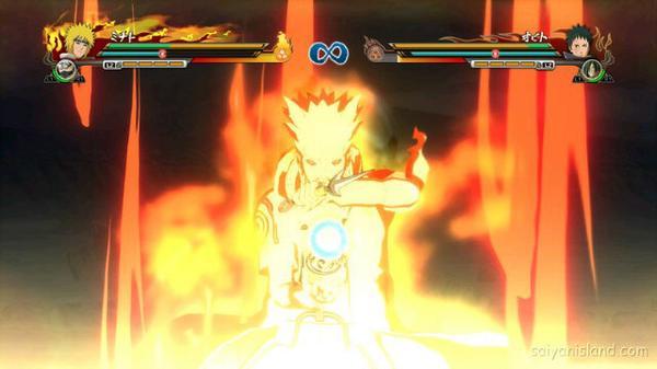 Fathan On Twitter Mejeng Minato Edo Tensei Kyuubi Chakra Mode Game Naruto Shippuden Ultimate Ninja Storm Revolution Http T Co T64wvvdqet