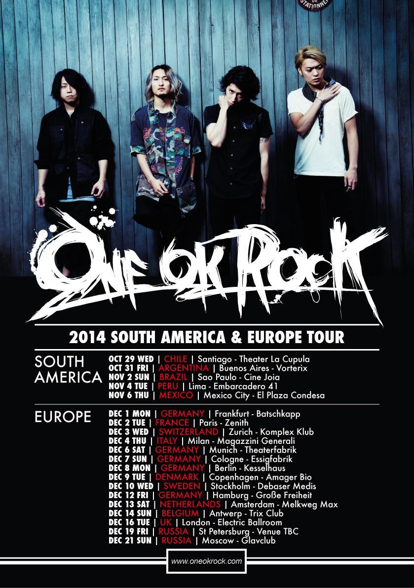 Oneokrock America Tour