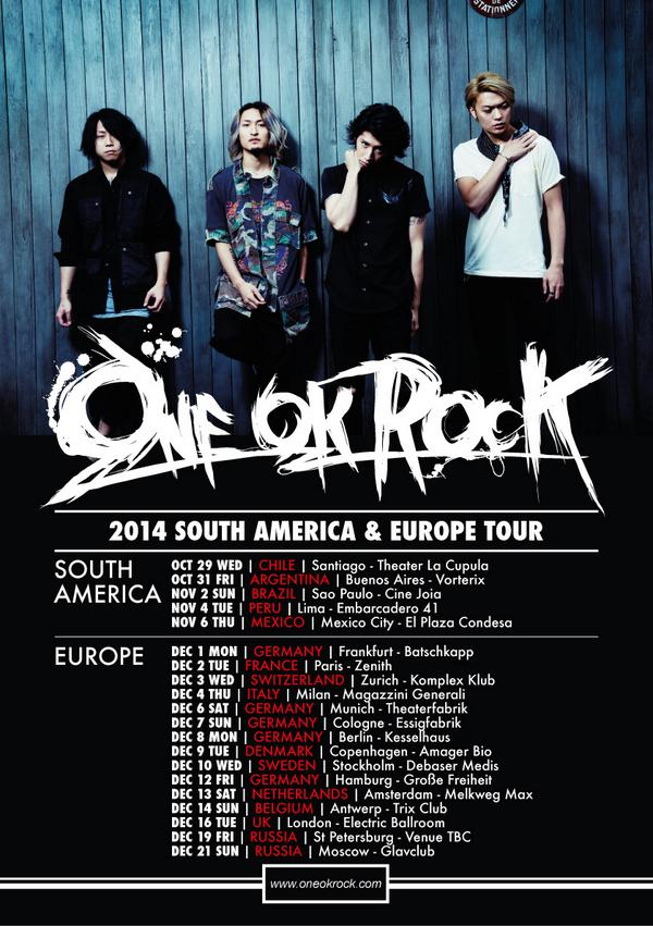 ONE OK ROCK_official on Twitter: