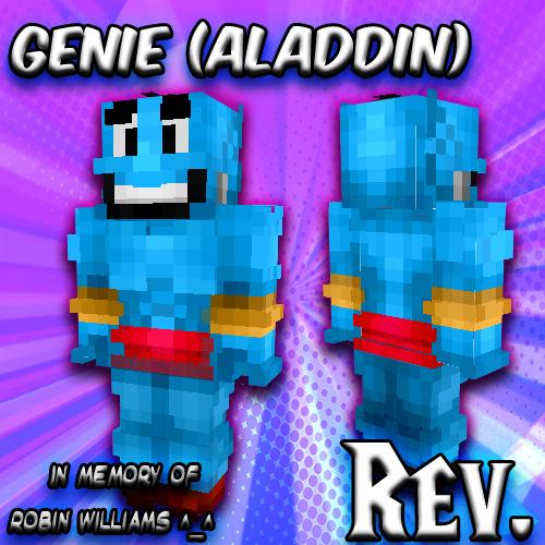Genie Aladdin Skin