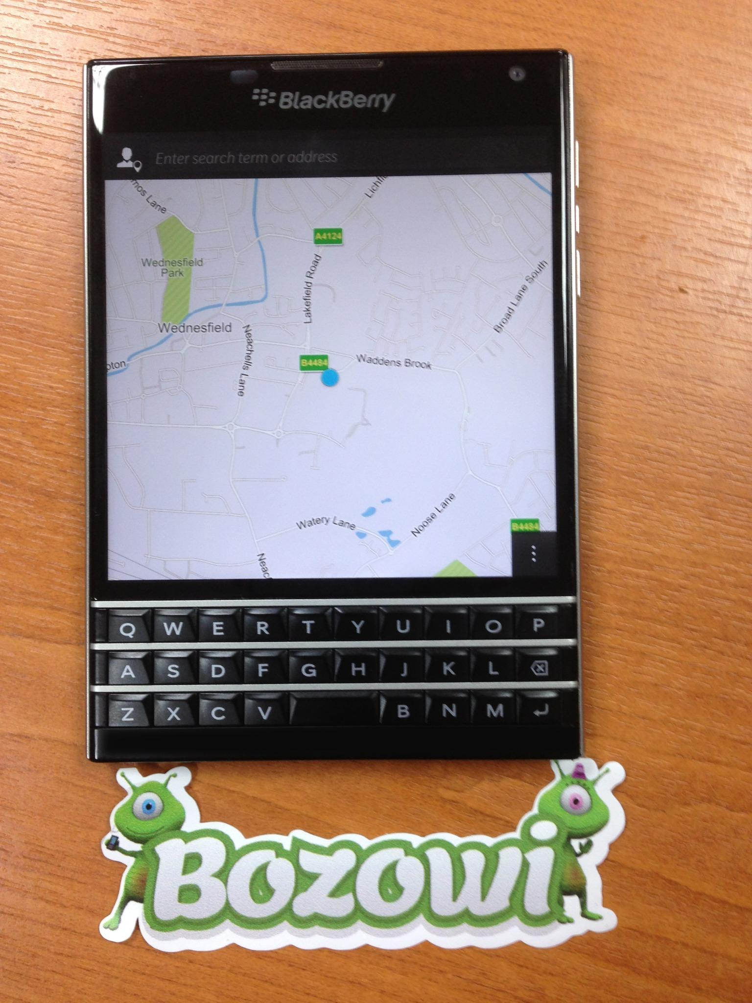 Blackberry Passport Preview
