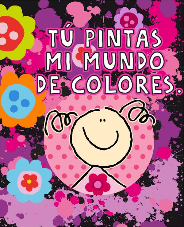 """Fulanitos on Twitter: """"¡Tu pintas mi mundo de colores! ¡Buen día ..."""