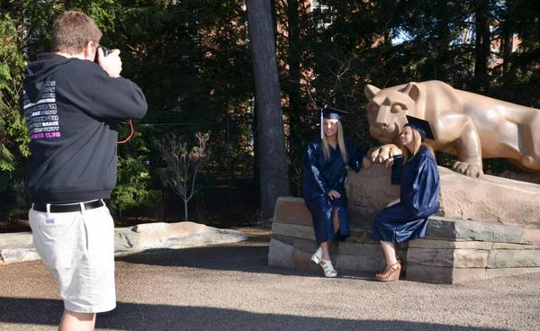 Penn State On Twitter Taking Cap And Gown Pics For Summer