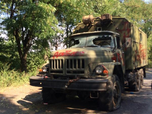Пограничники приняли бой и отбили нападение террористов на Донетчине - Цензор.НЕТ 5641