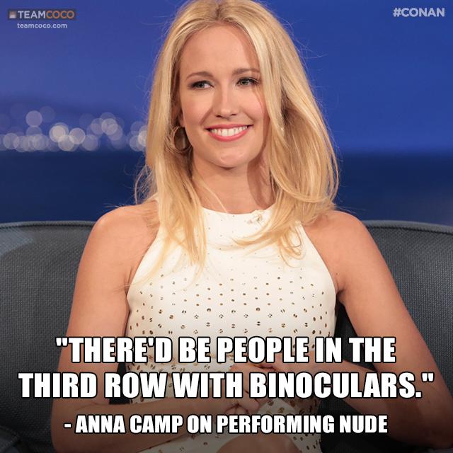 "Anna Camp on Twitter: """"@TeamCoco: .@TheRealAnnaCamp's ..."