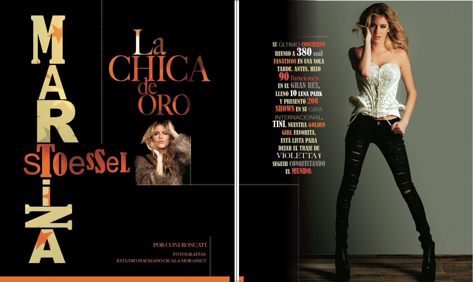 Martina pour le magazine El Planeta Urbano!!