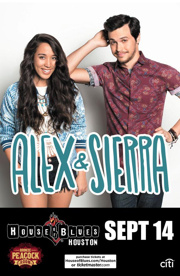 JUST ANNOUNCED — @AlexandSierra on Sunday, September 14th! Tickets on sale Friday at 10AM: http://t.co/3cbIap5Zt8 http://t.co/pCWSzwcah0