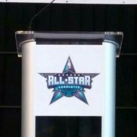 One City. One Team. We support Charlotte! @hornets @CLTSports #CLTAllStar http://t.co/0sgojz4QpN