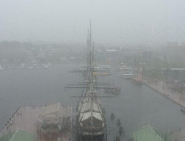 Baltimore Civil War Rainy Baltimore Diversity Wooden Ship Civil