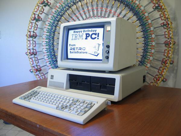 Happy Birthday IBM PC! RT @virtualTodd: RT @acangiano: The IBM PC is 33 today. http://t.co/YIuGiFafMv #sysadmin