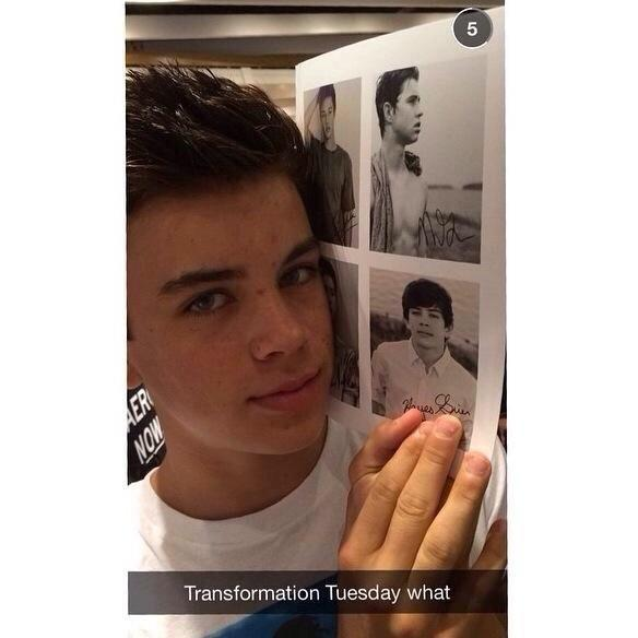 Stephany on twitter rt if u think hayes grier looks better with stephany on twitter rt if u think hayes grier looks better with his new haircut fav if u miss his old hair u liked it better or both winobraniefo Image collections