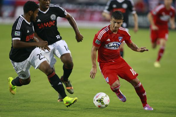 YOUR @PhilaUnion ARE HEADED TO THE #USOC2014 FINAL! Union will host winner of @SoundersFC and @ChicagoFire! http://t.co/3ZudGHPoJT