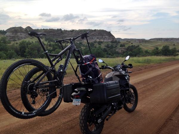 What a journey! Took the #Horsethief and rode 5 trails in 5 states in 5 days. Perfect bike for the job! -JJ- http://t.co/wFjTEcRnQi
