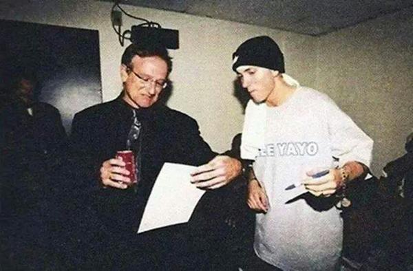 #Shade45 #SiriusXM @Eminem mourn the passing of the great Robin Williams… http://t.co/lRyBbXH50W