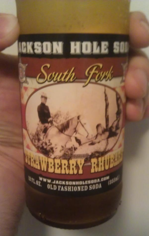 Jackson Hole Strawberry Rhubarb Soda Review | If you want the gravy...