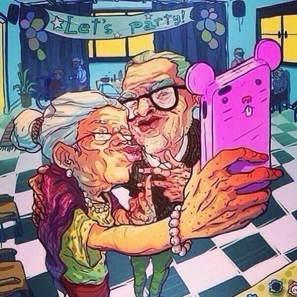 Мы в старости прикольные картинки, открытки цветами
