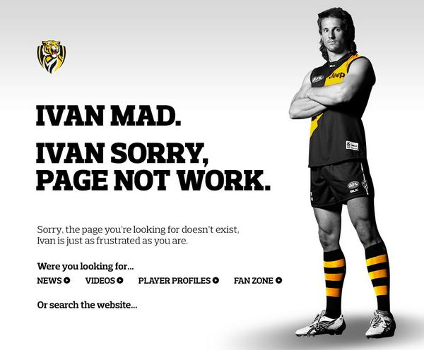 Time to mix up the 404 page #gotiges #ivanmad http://t.co/mNBFeMrcyI