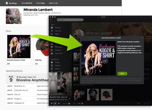 Calling Musicians Everywhere: Sell Your Offers On @Spotify With BandPage! http://t.co/i0SYSfkasC http://t.co/2CmdojAa3V