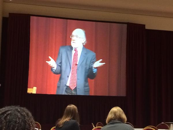 Michael Quinn Patton at #UWdtl14! Eval at the beginning and not the end. http://t.co/5wWbYGgH4Q