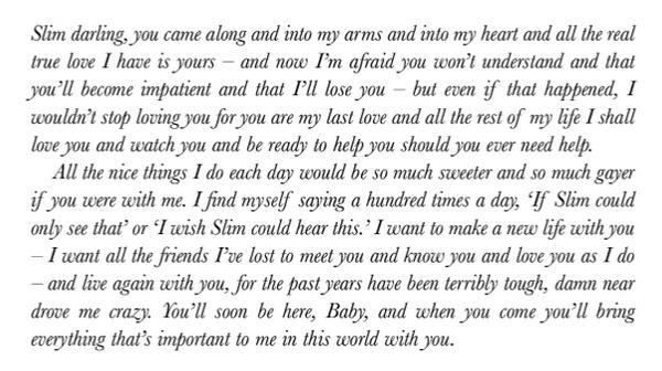 Beautiful RT @LettersOfNote: Humphrey Bogart writing to Lauren Bacall: http://t.co/1AtduRq2LR