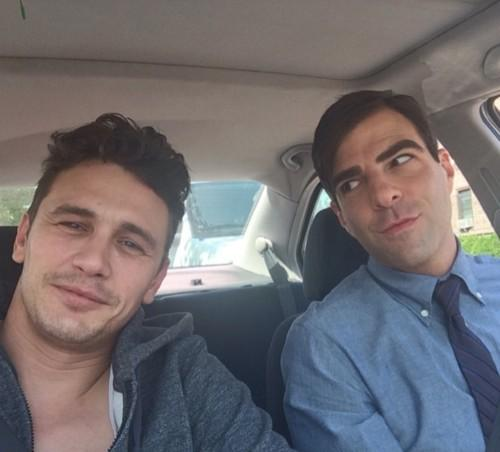 Twitter / RTPerfection: James Franco and Zachary Quinto ...