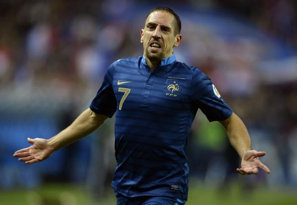 Bayern Munich winger Franck Ribery retires from France national team duty
