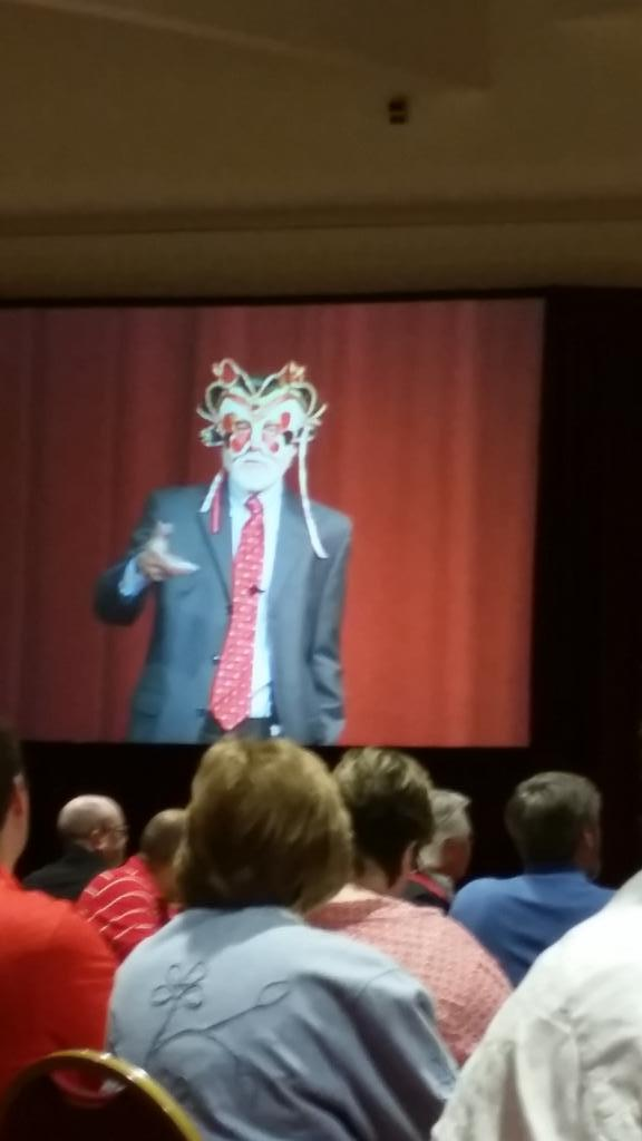 """I'm the evaluator...""  Dr. Michael Quinn Patton is funny #UWdtl14 http://t.co/65Vukel0Sp"