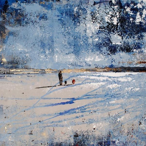 I sold one of my favourite paintings last week - Celtic Skies, le Dossen Plage, thrilled, but a little sad too. http://t.co/QzfI3jtCAq