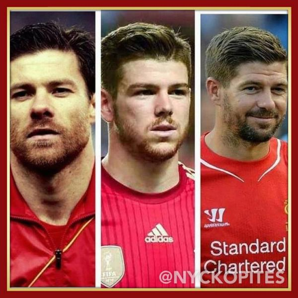 omg RT @NYCKOPITES: Who's the mad scientist at @LFC that cloned Xabi and Gerrard to get Alberto Moreno? http://t.co/7gUFVuaZic