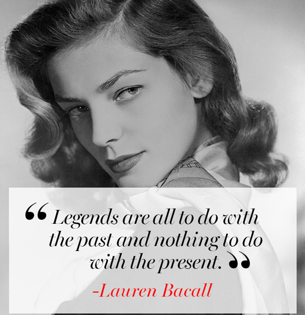 How Do You Put Quotes On Pictures: Today, We're Remembering Lauren Bacall With Her Most