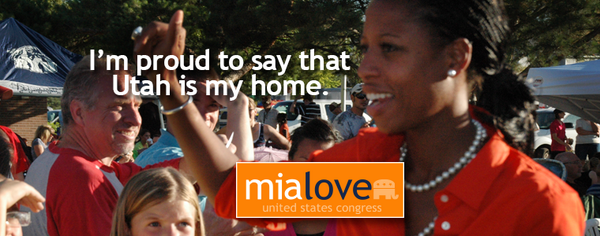 Mia Love kicking Democrat ass in latest polling (UT-04)