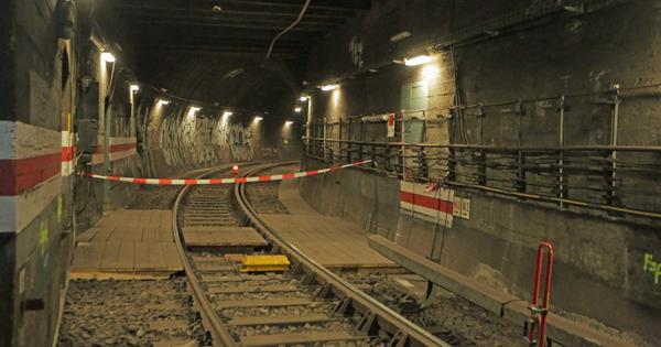 Berliner Untergrund Im Berliner Untergrund Kann Man Die Teilung