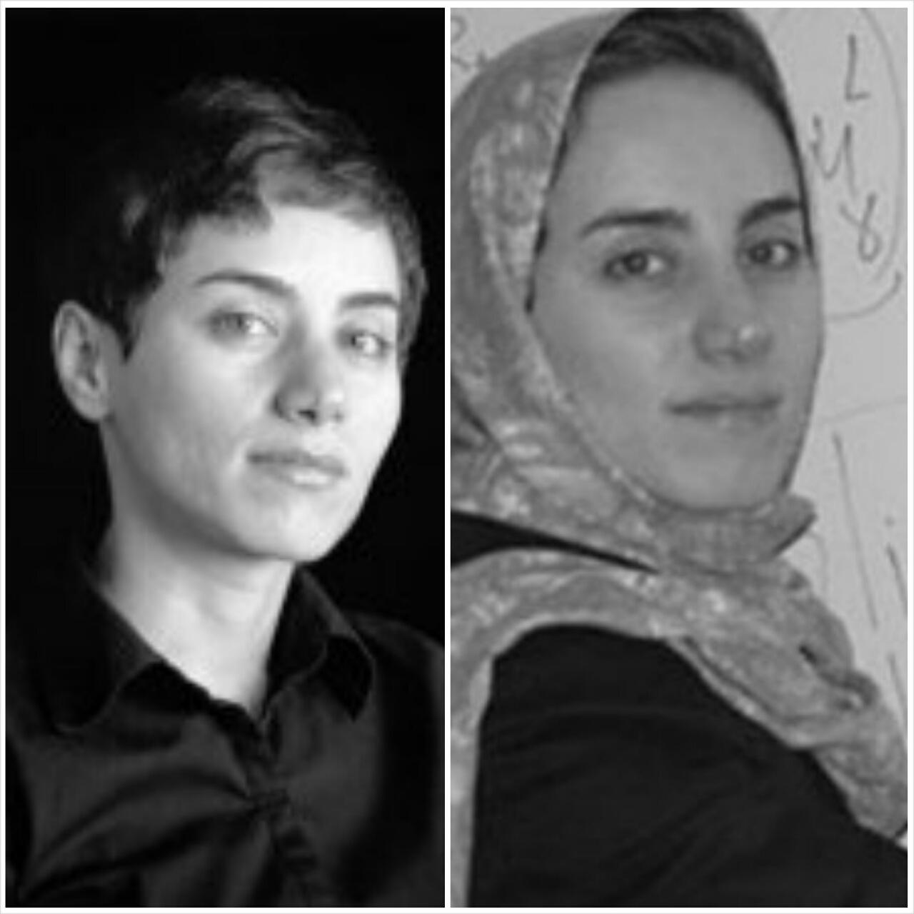 Rouhani's Photo of Bare-Headed Mirzakhani Shocks World, Iran's Treatment of Women Doesn't