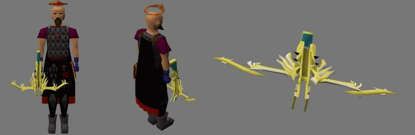 Alfredrs On Twitter Armadyl Crossbow Rework Colours Are Still