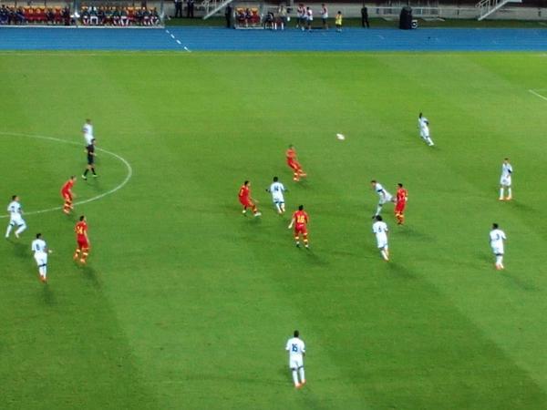 Moment during the game; photo: Filip Zdraveski